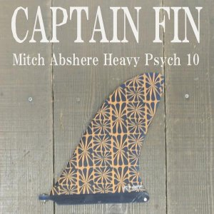 CAPTAIN FIN/キャプテンフィン MITCH ABSHERE HEAVY PSYCH 10 ミッチアブシャー ロングボード用フィン ボックスフィン/センターフィン/サーフボード用フィン|surfingworld