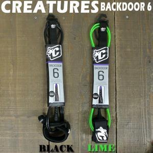 値下げしました!CREATURES/クリエーチャーズ リーシュコード/LEASH CODE  BACK DOOR 6'  サーフィン用パワーコード 小〜中波用 surfingworld