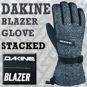 DAKINE/ダカイン BLAZER GLOVE STACKED 17-18モデル 男性用メンズ スノーボードグローブ/SNOW BOARD GLOVE スノボ|surfingworld
