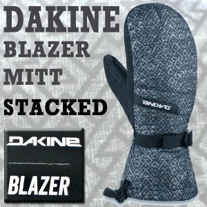 DAKINE/ダカイン BLAZER MITT STACKED 17-18モデル 男性用メンズ スノーボードミットグローブ ミトン SNOW BOARD MITT スノボ|surfingworld