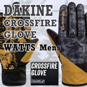 DAKINE/ダカイン CROSSFIRE GLOVE WATTS 17-18モデル 男性用メンズスノーボードグローブ  SNOW BOARD GLOVE スノボ|surfingworld