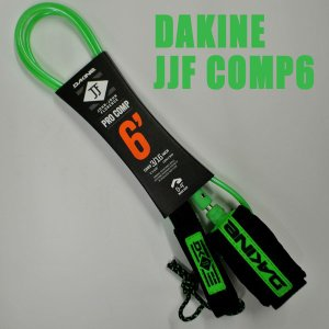 DAKINE/ダカイン JOHN JOHN FLORENCE COMP 6 x 3/16 BLACK/GREEN LEASH CODE/リーシュコード ジョンジョンフローレンス サーフボード用 パワーコード|surfingworld