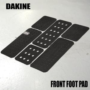 DAKINE/ダカイン FRONT FOOT SURF TRACTION PAD BLACK フロント用デッキパッド 前足用トラクションパッド|surfingworld