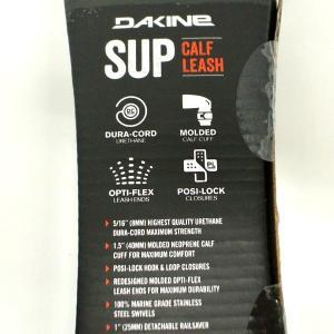 DAKINE/ダカイン SUP LEASH CALF 12x5/16 BLACK サップ用リーシュコード スタンドアップパドルボード用 ふくらはぎ用 [返品、交換及びキャンセル不可]|surfingworld|04