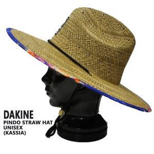 DAKINE/ダカイン PINDO STRAW HAT KASSIA ストローハット 帽子 日よけ 麦わら帽子 KASSIAデザイン|surfingworld|02