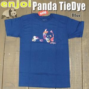 値下げしました!ENJOI/エンジョイ メンズ 半袖Tシャツ【PANDA TIE DYE S/S TEE BLUE】男性用T-SHIRTS スケートボード/スケボー/SK8|surfingworld