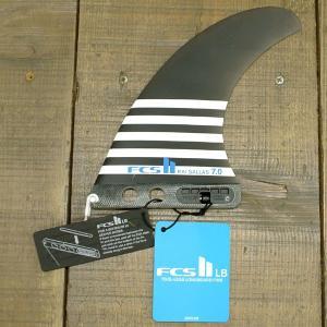 FCS2 FIN/エフシーエス2 ロングボード用フィン KAI SALLAS 7.0 PG Performance Glass/パフォーマンスグラス SMOKE カイサラス ボックスフィン/センターフィン surfingworld