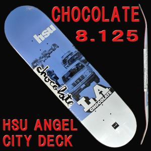 CHOCOLATE/チョコレート スケートボードデッキ HSU ANGEL CITY DECK 8....