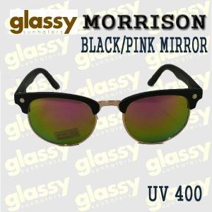 GLASSY SUNHATERS/グラッシーサンヘイターズ サングラス MORRISON BLACK/PINK MIRROR サングラス EYEWEAR/アイウェア|surfingworld