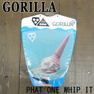 値下げしました!GORILLA/ゴリラ DECK PAD/デッキパッド PHAT ONE WHIP IT サーフボード用 サーフィン用デッキパッチ トラクションパッド|surfingworld
