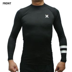 HURLEY/ハーレー メンズ 長袖ラッシュガード PRO LIGHT TOP L/S BLACK 010 RASHGUARD サーフィン MENS 水着 男性用 894625|surfingworld|02