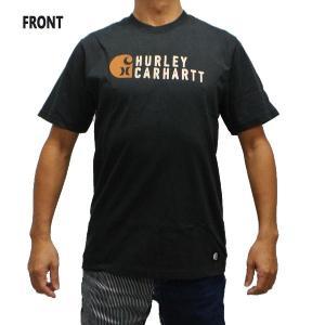 HURLEY/ハーレー CARHARTT BFY STACKED S/S TEE 010 BLACK 男性用 T-SHIRTS メンズ半袖Tシャツ カーハートコラボ [返品、交換及びキャンセル不可]|surfingworld|03