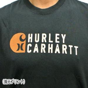 HURLEY/ハーレー CARHARTT BFY STACKED S/S TEE 010 BLACK 男性用 T-SHIRTS メンズ半袖Tシャツ カーハートコラボ [返品、交換及びキャンセル不可]|surfingworld|05