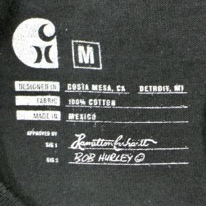 HURLEY/ハーレー CARHARTT BFY STACKED S/S TEE 010 BLACK 男性用 T-SHIRTS メンズ半袖Tシャツ カーハートコラボ [返品、交換及びキャンセル不可]|surfingworld|07