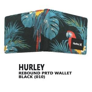 HURLEY/ハーレー REBOUND PRINTED WALLET 010 BLACK SIERRA RED 2つ折り 財布 WALLET/ウォレット 0092|surfingworld|02