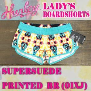 値下げしました!HURLEY/ハーレー LADYS SUPER SUEDE PRINTED BR BOARDSHORTS 01XJ 女性用 サーフパンツ ボードショーツ surfingworld