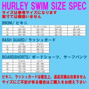 値下げしました!HURLEY/ハーレー 新作レディース BIKINI TIE DYE Uw PUSH UP BRA/Rev BRIEF PANT BLUE 女性用 水着 ビキニ|surfingworld|04