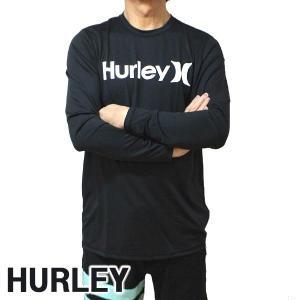 値下げしました!HURLEY/ハーレー 長袖ラッシュガード ONE&ONLY SURF SHIRT L/S RASHGUARD 010 長袖サーフTシャツ サーフィン 水着 男性用 894629|surfingworld