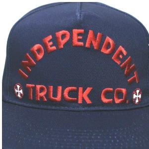 INDEPENDENT/インデペンデント ITC BOLD MID PROFILE SNAPBACK HATS NAVY CAP/キャップ HAT/ハット 帽子 キャップ トラッカー|surfingworld|06