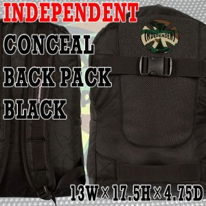 INDEPENDENT/インデペンデント CONCEAL BACKPACK 鞄 リュック バックパック スケートバック surfingworld