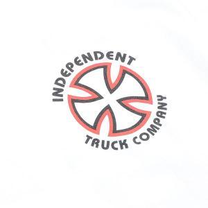 INDEPENDENT/インデペンデント CLASSIC BAUHAUS S/S TEE WHITE メンズ Tシャツ 男性用|surfingworld|03