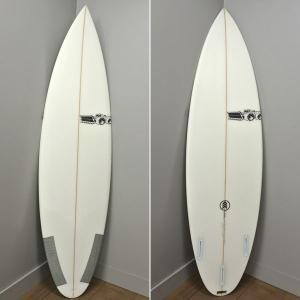 値下げしました!JS INDUSTRIES/ジェイエス インダストリーズ サーフボード JOEL PARKINSON/ジョエルパーキンソン 5'11  FUTURES WHITE PARKO/パーコ|surfingworld