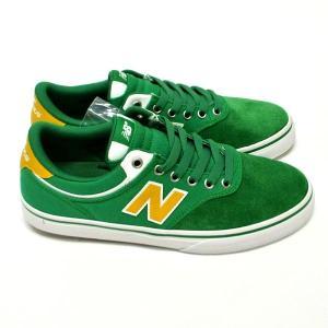 NEW BALANCE/ニューバランス NM255OAK GREEN/YELLOW SUEDE/CANVAS 靴 スケートボードシューズ スニーカー|surfingworld|03