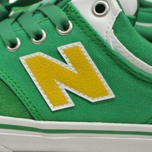 NEW BALANCE/ニューバランス NM255OAK GREEN/YELLOW SUEDE/CANVAS 靴 スケートボードシューズ スニーカー|surfingworld|06
