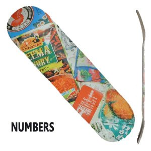 NUMBERS EDITION/ナンバーズエディション スケートボード/スケボーデッキ MARIANO EDITION6 8.1 GUY MARIANO DECK SK8 surfingworld