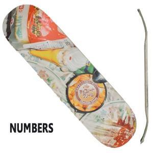 NUMBERS EDITION/ナンバーズエディション スケートボード/スケボーデッキ KOSTON EDITION6 8.25 ERIC KOSTON DECK SK8|surfingworld