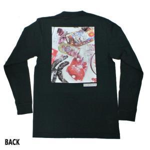NUMBERS EDITION/ナンバーズエディション DAIFU L/S TEE BLACK 長袖Tシャツ 丸首 ロンT 男性用 メンズ T-SHIRTS|surfingworld|03
