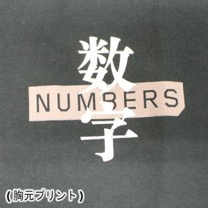 NUMBERS EDITION/ナンバーズエディション DAIFU L/S TEE BLACK 長袖Tシャツ 丸首 ロンT 男性用 メンズ T-SHIRTS|surfingworld|04