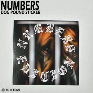 NUMBERS EDITION/ナンバーズエディション DOG POUND STICKER ステッカー シール スケボー 07|surfingworld
