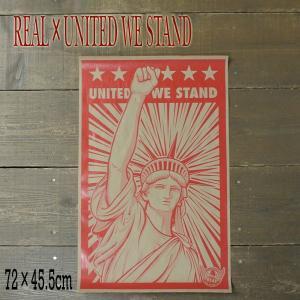 REAL/リアル × UNITED WE STAND (HUMIDITY)  POSTER/ポスター スケボー|surfingworld