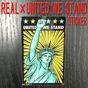 REAL/リアル × UNITED WE STAND (HUMIDITY) STICKER/ステッカー シール スケボー|surfingworld