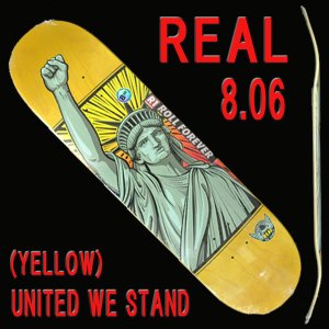 REAL/リアル UNIRTED WE STAND (HUMIDITY) YELLOW 8.06 D...