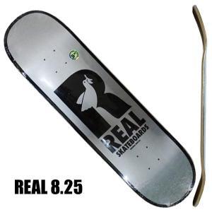 REAL/リアル BRD DOVES RENEWAL 8.25 DECK SK8 スケートボード/ス...