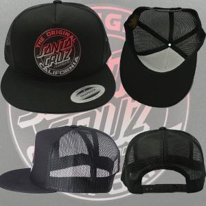 SANTACRUZ/サンタクルズ CALI DOT FADE TRUCKER MESH HAT BLACK CAP/キャップ HAT/ハット 帽子|surfingworld|02