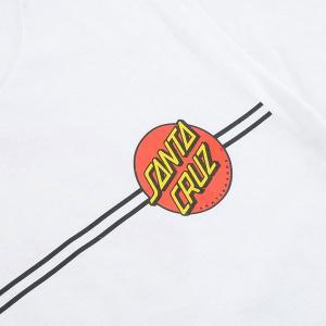 SANTA CRUZ/サンタクルズ CLASSIC DOT S/S TEE WHITE メンズ Tシャツ 男性用|surfingworld|03