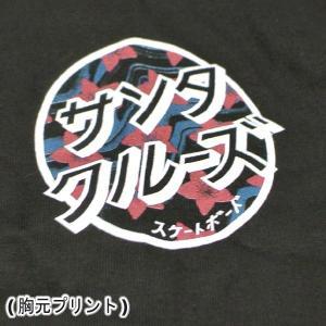 SANTA CRUZ/サンタクルズ JAPANESE BLOSSOM DOT S/S TEE BLACK メンズ Tシャツ 男性用 T-shirts 半袖 丸首 MENS surfingworld 04