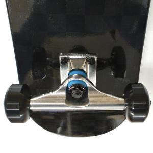 SDS/エスディーエス コンプリートスケートボード/スケボー CHECKERED BLACK ON BLACK 7.75 COMPLETE SK8 [返品、交換及びキャンセル不可] surfingworld 06