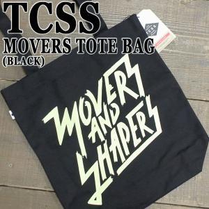 TCSS/ザクリティカルスライドソサイエティ MOVERS TOTE BAG BLACK トートバッグ 鞄 手提げ The Critical Slide Society surfingworld