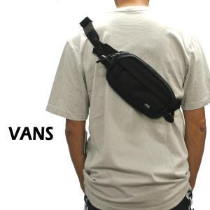 VANS/バンズ ヴァンズ VANS ALISO 2 HIP PACK BLACK ボディバッグ ウェストバッグ 肩掛けかばん  [返品、交換及びキャンセル不可]|surfingworld