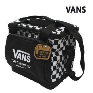 VANS/バンズ ヴァンズ VANS COOLER BAG クーラーバッグ 保冷バッグ 白黒チェッカー|surfingworld