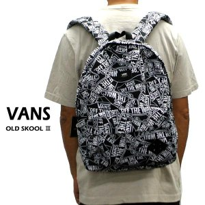 VANS/バンズ ヴァンズ OLD SKOOL 3 BACKPACK OFF THE WALL 鞄 リュック バックパック [返品、交換及びキャンセル不可]|surfingworld