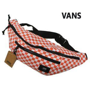VANS/バンズ ヴァンズ VANS WARD CROSSBODY PACK EMBERGLOW CHECKER ボディバッグ ウェストバッグ 肩掛けかばん|surfingworld
