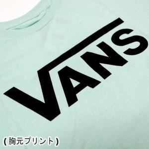 VANS/バンズ VANS CLASSIC S/S TEE MINT/BLACK 半袖TEE  MENS メンズ 男性用 ロゴ|surfingworld|04