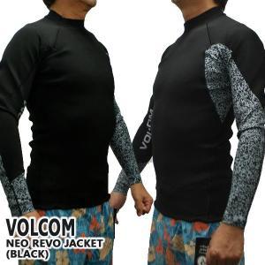 VOLCOM/ボルコム NEO REVO JACKET BLACK メンズ長袖タッパー 男性用サーフィン用ウェットスーツ 送料無料!! surfingworld 02