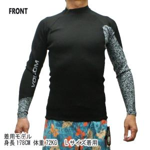 VOLCOM/ボルコム NEO REVO JACKET BLACK メンズ長袖タッパー 男性用サーフィン用ウェットスーツ 送料無料!! surfingworld 03
