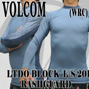 値下げしました!VOLCOM/ボルコム メンズ長袖ラッシュガード LIDO BLOCK L/S RASHGUARD WRC UPF50+ 男性用水着 UVカット 311801|surfingworld